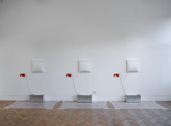 Natasha Kidd - Inflate I, II, III (installation shot)